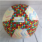 Balloon Ball: Spots & Chevron Bright.